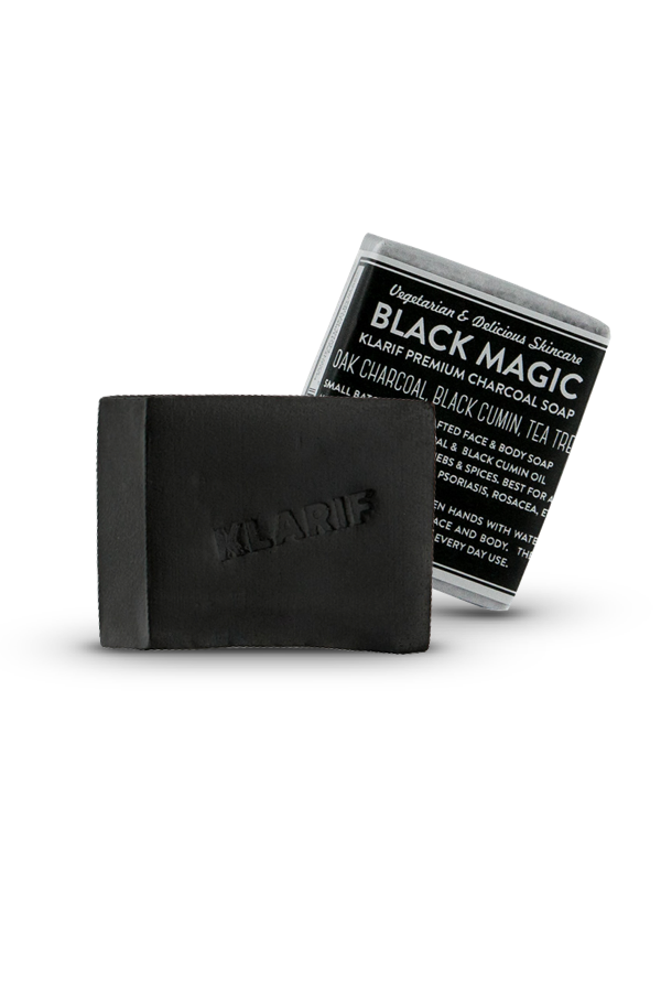 black magic charcoal soap for acne