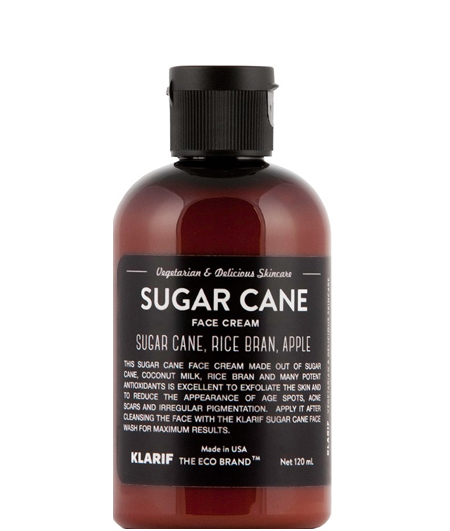 klarif_sugar_cane_face_cream