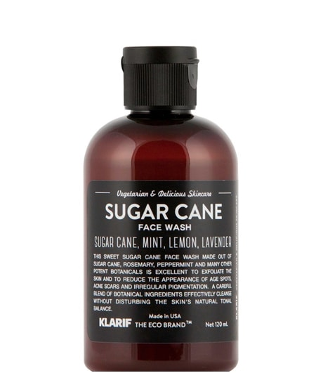 klarif_sugar_cane_face_wash