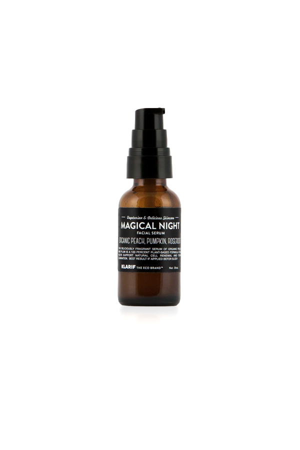 magical night facial serum