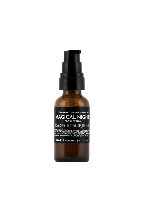 klarif magical night face serum