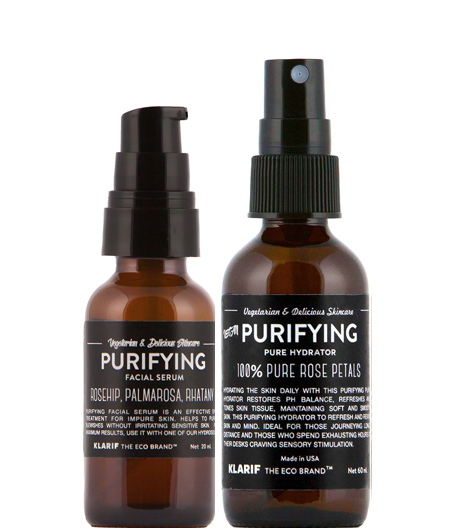 klarif purifying duo rose